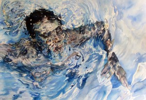 4)Mosaic Swimmer